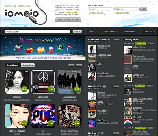 Top 15 free mp3 download sites to download popular music.