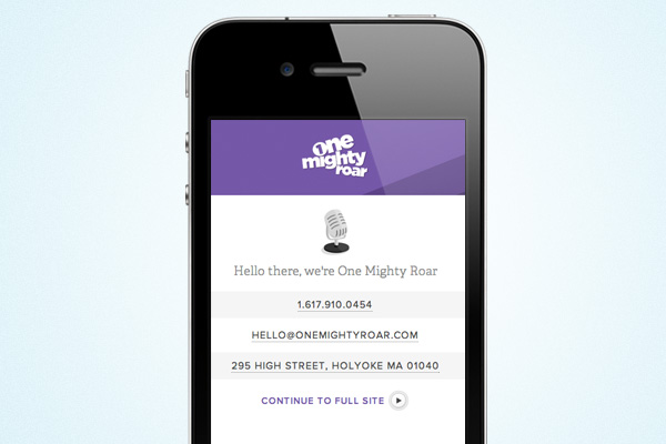 mobile-landing-page