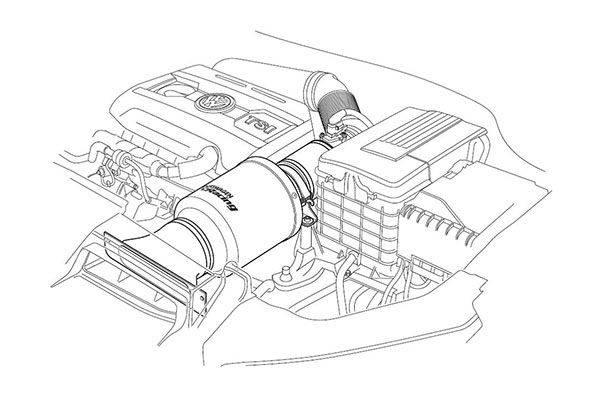 Air Intakes To The Car